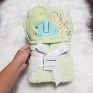 🆕️ Garanimals Green Hooded Blanket Baby Gift